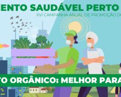 No segundo dia da Semana do Alimento Orgânico, painéis focam na regularização da produção orgânica